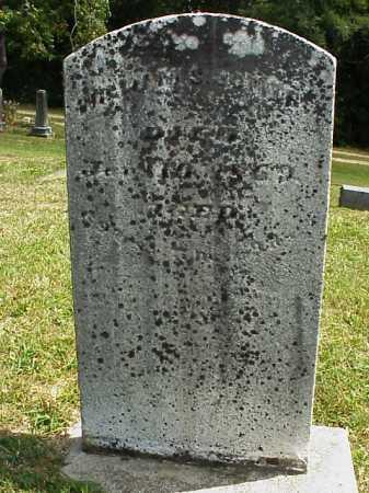JONES, WILLIAM S. - Meigs County, Ohio | WILLIAM S. JONES - Ohio Gravestone Photos