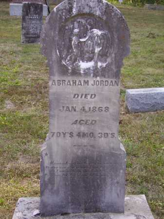 JORDAN, ABRAHAM - Meigs County, Ohio | ABRAHAM JORDAN - Ohio Gravestone Photos