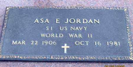 JORDAN, ASA E. - Meigs County, Ohio | ASA E. JORDAN - Ohio Gravestone Photos