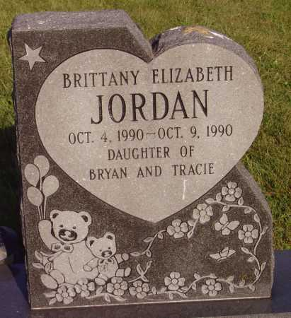 JORDAN, BRITTANY ELIZABETH - Meigs County, Ohio | BRITTANY ELIZABETH JORDAN - Ohio Gravestone Photos