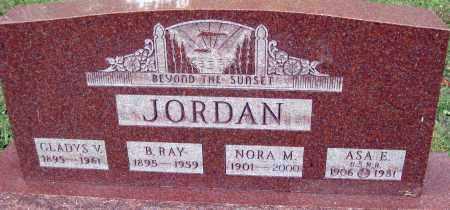 GIBSON JORDAN, GLADYS V - Meigs County, Ohio | GLADYS V GIBSON JORDAN - Ohio Gravestone Photos