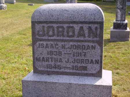 JORDAN, MARTHA J - Meigs County, Ohio   MARTHA J JORDAN - Ohio Gravestone Photos