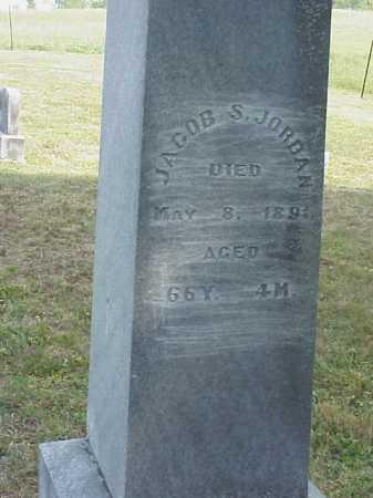 JORDAN, JACOB S. - Meigs County, Ohio   JACOB S. JORDAN - Ohio Gravestone Photos