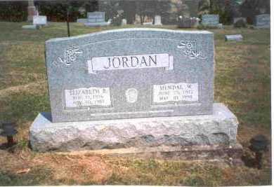 RUTHERFORD JORDAN, ELIZABETH R. - Meigs County, Ohio | ELIZABETH R. RUTHERFORD JORDAN - Ohio Gravestone Photos