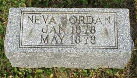 JORDAN, NEVA - Meigs County, Ohio | NEVA JORDAN - Ohio Gravestone Photos