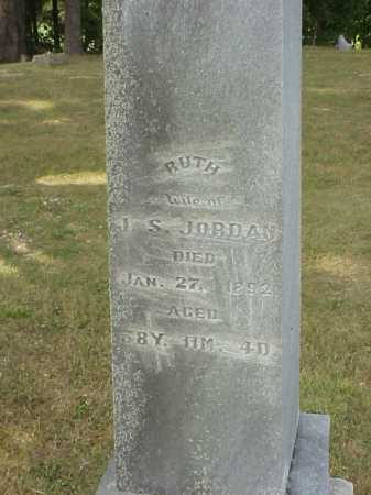 JORDAN, RUTH - Meigs County, Ohio | RUTH JORDAN - Ohio Gravestone Photos