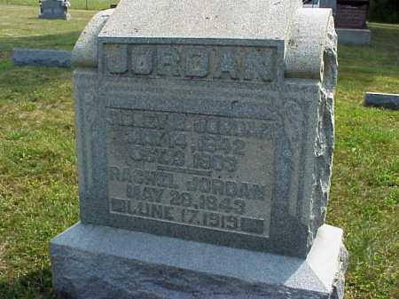 MCCARTY JORDAN, RACHEL - Meigs County, Ohio   RACHEL MCCARTY JORDAN - Ohio Gravestone Photos