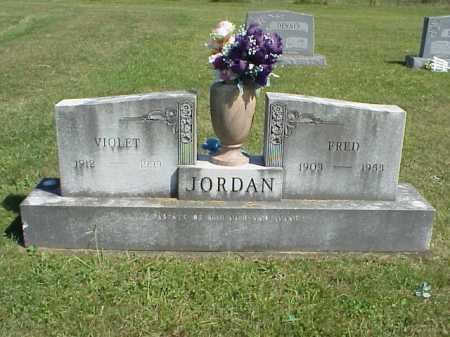 JORDAN, FRED - Meigs County, Ohio | FRED JORDAN - Ohio Gravestone Photos