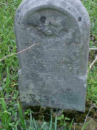 JOUCHIM, PHILLIP - Meigs County, Ohio | PHILLIP JOUCHIM - Ohio Gravestone Photos