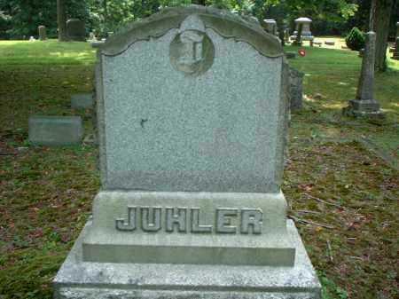 JUHLER, MONUMENT - Meigs County, Ohio | MONUMENT JUHLER - Ohio Gravestone Photos
