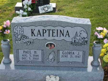 KAPTEINA, GLORIA J. - Meigs County, Ohio | GLORIA J. KAPTEINA - Ohio Gravestone Photos