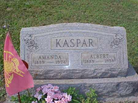 KASPAR, ALBERT - Meigs County, Ohio   ALBERT KASPAR - Ohio Gravestone Photos