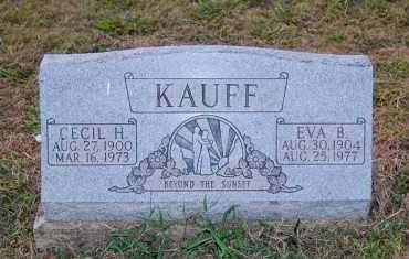 KAUFF, CECIL H. - Meigs County, Ohio | CECIL H. KAUFF - Ohio Gravestone Photos