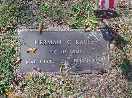 KAUFF, HERMAN C. - Meigs County, Ohio | HERMAN C. KAUFF - Ohio Gravestone Photos