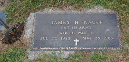 KAUFF, JAMES H. - Meigs County, Ohio | JAMES H. KAUFF - Ohio Gravestone Photos