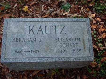 KAUTZ, ABRAHAM J. - Meigs County, Ohio | ABRAHAM J. KAUTZ - Ohio Gravestone Photos