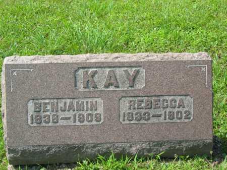KAY, REBECCA LALLANCE - Meigs County, Ohio | REBECCA LALLANCE KAY - Ohio Gravestone Photos