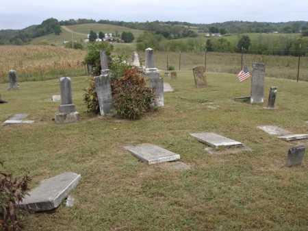 KEEBAUGH, FALLEN & BROKEN STONES - VIEW 2 - Meigs County, Ohio | FALLEN & BROKEN STONES - VIEW 2 KEEBAUGH - Ohio Gravestone Photos