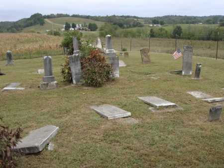 DAINS, PLOT VIEW - Meigs County, Ohio | PLOT VIEW DAINS - Ohio Gravestone Photos