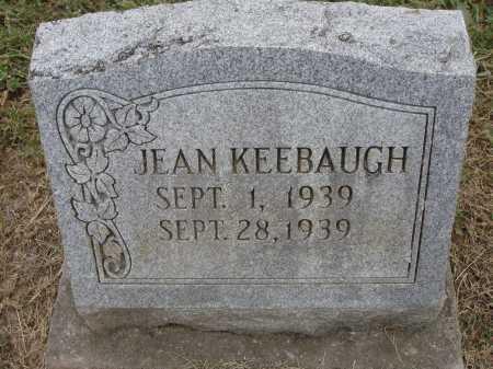 KEEBAUGH, JEAN LOUISE - Meigs County, Ohio | JEAN LOUISE KEEBAUGH - Ohio Gravestone Photos