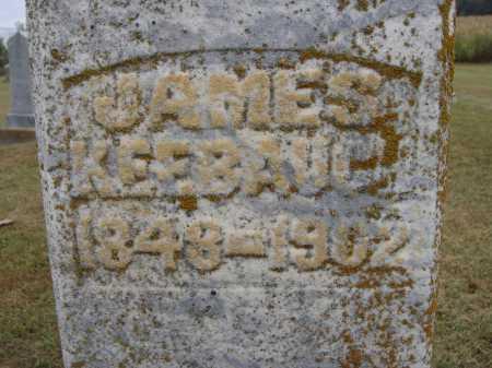 KEEBAUGH, JAMES - Meigs County, Ohio | JAMES KEEBAUGH - Ohio Gravestone Photos