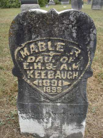 KEEBAUGH, MABLE R. - VIEW 2 - Meigs County, Ohio | MABLE R. - VIEW 2 KEEBAUGH - Ohio Gravestone Photos