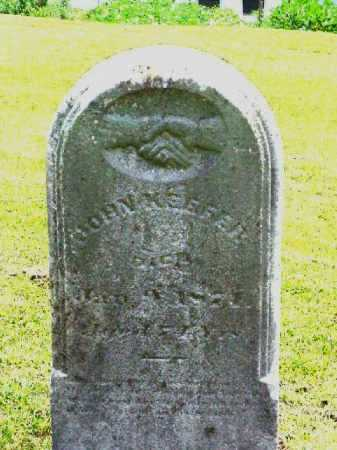 KEEFER, JOHN - Meigs County, Ohio | JOHN KEEFER - Ohio Gravestone Photos