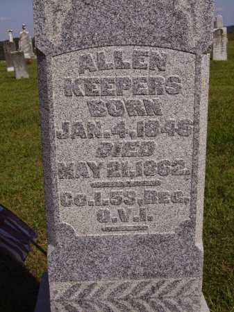 KEEPERS, ALLEN - Meigs County, Ohio | ALLEN KEEPERS - Ohio Gravestone Photos
