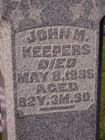 KEEPERS, JOHN M. - Meigs County, Ohio | JOHN M. KEEPERS - Ohio Gravestone Photos