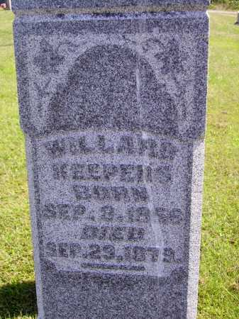 KEEPERS, WILLARD - CLOSEVIEW - Meigs County, Ohio   WILLARD - CLOSEVIEW KEEPERS - Ohio Gravestone Photos