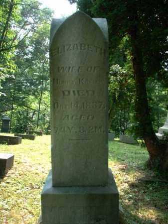 KEISER, ELIZABETH - Meigs County, Ohio | ELIZABETH KEISER - Ohio Gravestone Photos