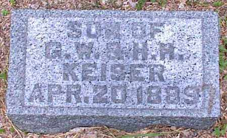 KEISER, SON - Meigs County, Ohio | SON KEISER - Ohio Gravestone Photos