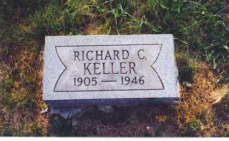 KELLER, RICHARD C. - Meigs County, Ohio   RICHARD C. KELLER - Ohio Gravestone Photos