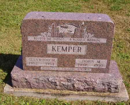 KEMPER, GLENWOOD M. - Meigs County, Ohio | GLENWOOD M. KEMPER - Ohio Gravestone Photos