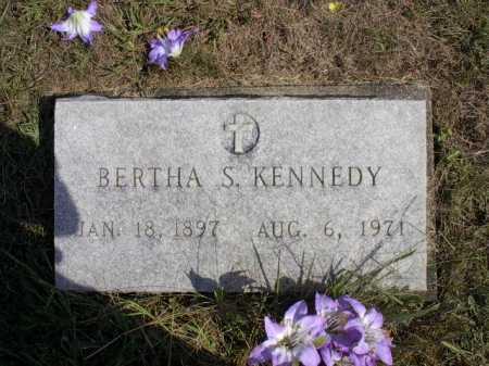 KENNEDY, BERTHA S. - Meigs County, Ohio | BERTHA S. KENNEDY - Ohio Gravestone Photos