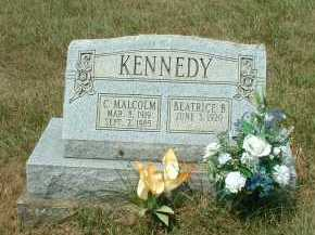 KENNEDY, C. MALCOLM - Meigs County, Ohio | C. MALCOLM KENNEDY - Ohio Gravestone Photos