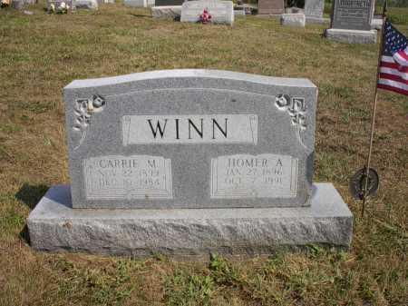WINN, HOMER A. - Meigs County, Ohio   HOMER A. WINN - Ohio Gravestone Photos