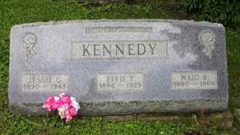 KENNEDY, WAID B. - Meigs County, Ohio | WAID B. KENNEDY - Ohio Gravestone Photos