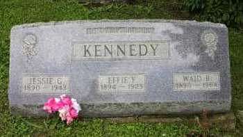 KENNEDY, WAID B. - Meigs County, Ohio | WAID B. KENNEDY - Ohio Gravestone Photos