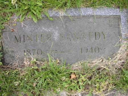 KENNEDY, MINTOR - Meigs County, Ohio | MINTOR KENNEDY - Ohio Gravestone Photos