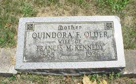 KENNEDY, QUINDORA F. - Meigs County, Ohio | QUINDORA F. KENNEDY - Ohio Gravestone Photos
