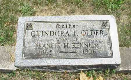 OLDER KENNEDY, QUINDORA F. - Meigs County, Ohio | QUINDORA F. OLDER KENNEDY - Ohio Gravestone Photos