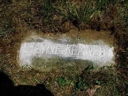 KENNEDY, WAYNE - Meigs County, Ohio | WAYNE KENNEDY - Ohio Gravestone Photos