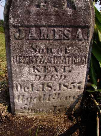 KENT, JAMES A. - Meigs County, Ohio | JAMES A. KENT - Ohio Gravestone Photos