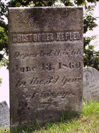 KEPLER, CHRISTOPHER - Meigs County, Ohio   CHRISTOPHER KEPLER - Ohio Gravestone Photos