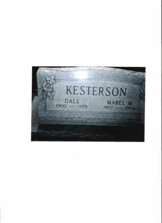 SHOEMAKER KESTERSON, MABEL MAE - Meigs County, Ohio | MABEL MAE SHOEMAKER KESTERSON - Ohio Gravestone Photos
