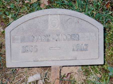 KIDDER, MARY - Meigs County, Ohio | MARY KIDDER - Ohio Gravestone Photos