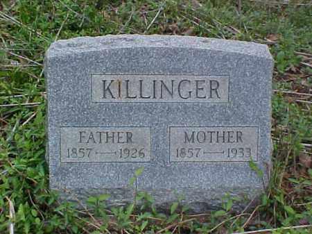 KILLINGER, MOTHER - Meigs County, Ohio | MOTHER KILLINGER - Ohio Gravestone Photos