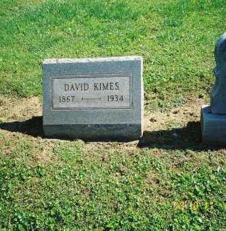 KIMES, DAVID - Meigs County, Ohio | DAVID KIMES - Ohio Gravestone Photos