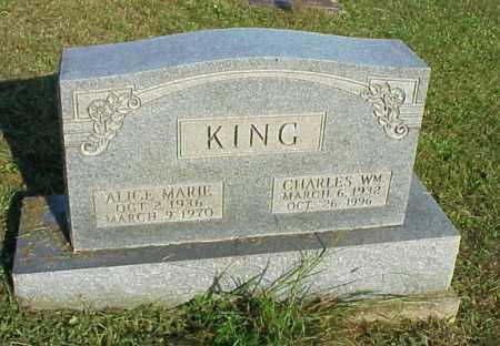 KING, ALICE MARIE - Meigs County, Ohio | ALICE MARIE KING - Ohio Gravestone Photos